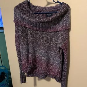 Size small off the shoulder sweater